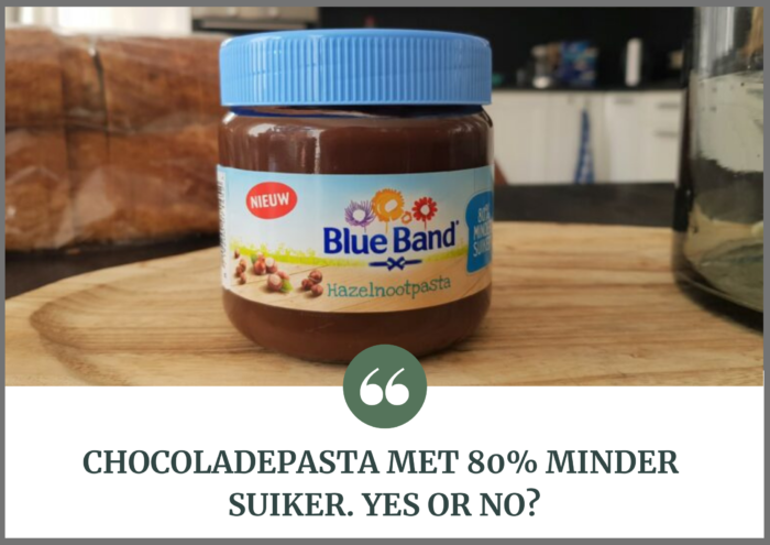 chocoladepasta minder suiker blog